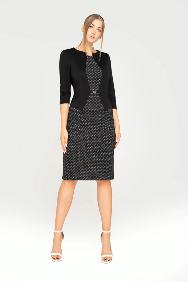 Sukienka Cornelia czarna- całość