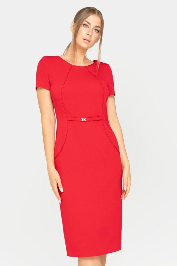 Sukienka Sonia czerwona