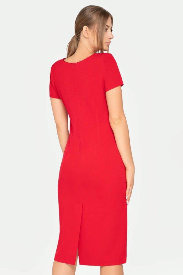 Sukienka Sonia czerwona tył