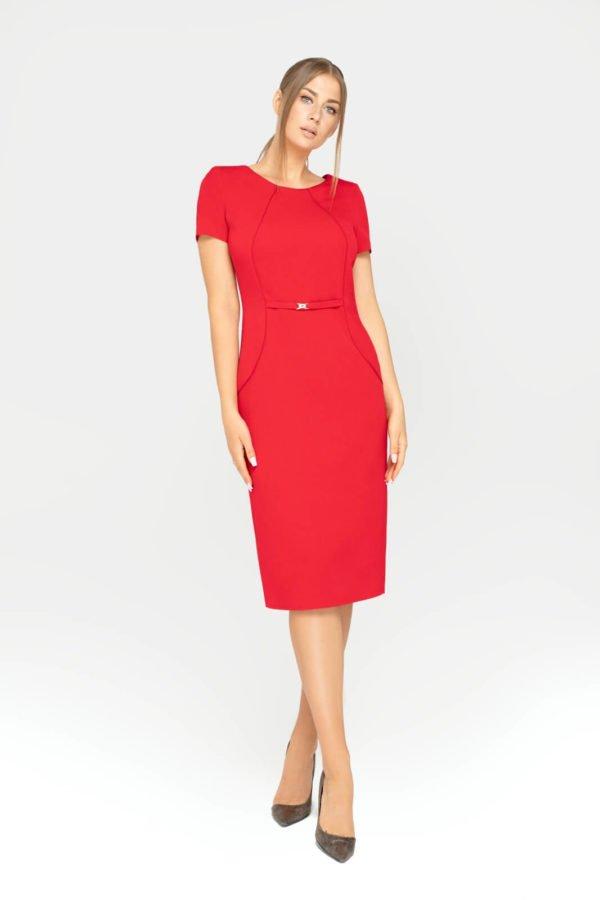 Sukienka Sonia czerwona całość