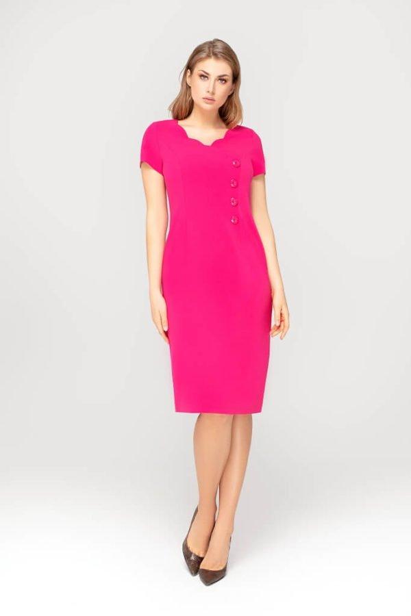 Sukienka Lea amarantowa całość