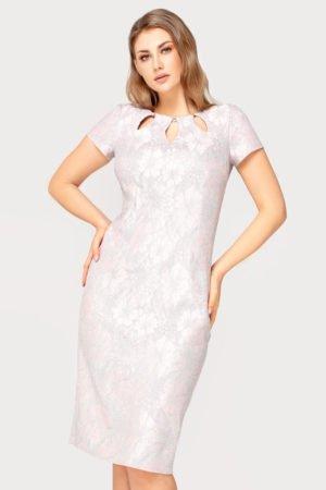 Sukienka Victoria pudrowo-szara