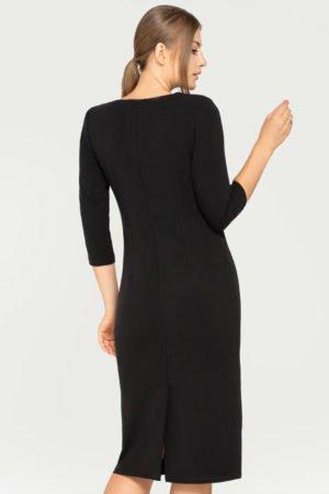 Sukienka Eva czarna tył