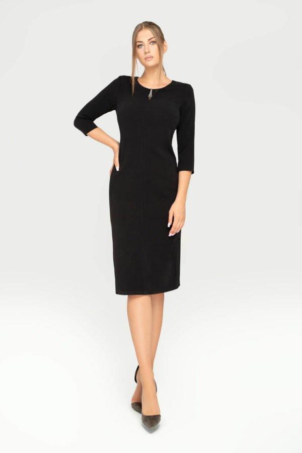 Sukienka Eva czarna całość