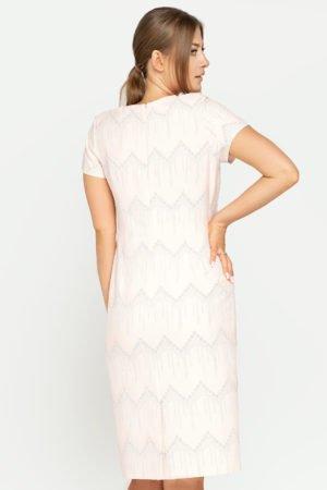 Sukienka Pola pudrowa tył
