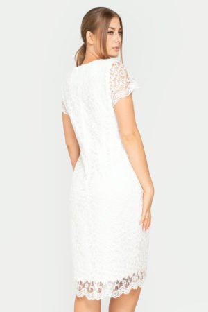 Sukienka Tatiana ecru tył