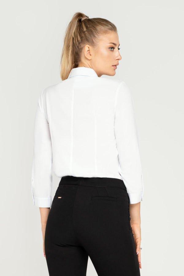 Bluzka biała wiązana- tył