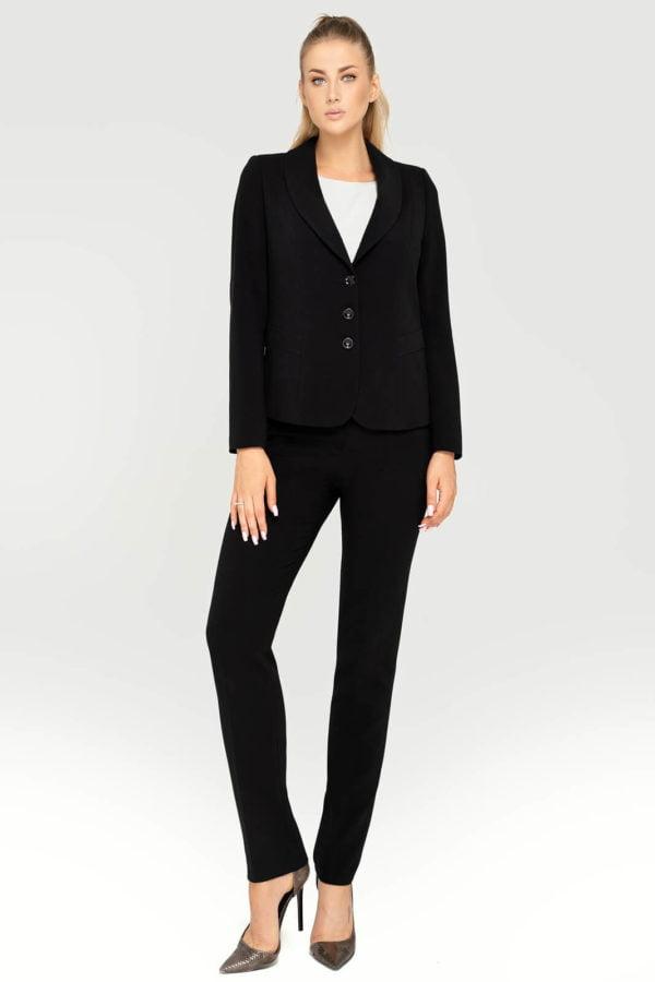 Kostium czarny ze spodniami