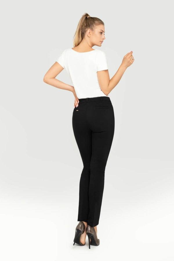 Spodnie damskie czarne- tył