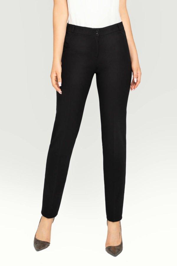 Spodnie damskie czarne- klasyczne
