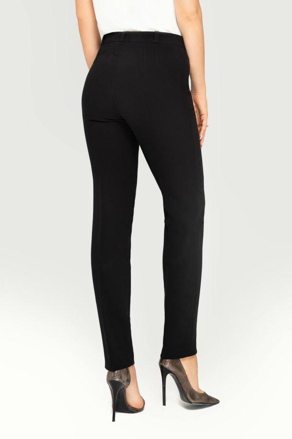 Spodnie klasyczne zwężane czarne
