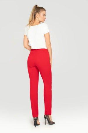 Spodnie klasyczne czerwone- tył