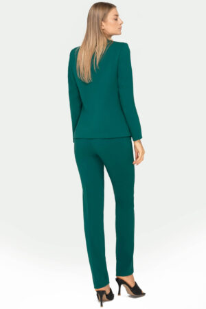 Kostium Clara zielony ze spodniami